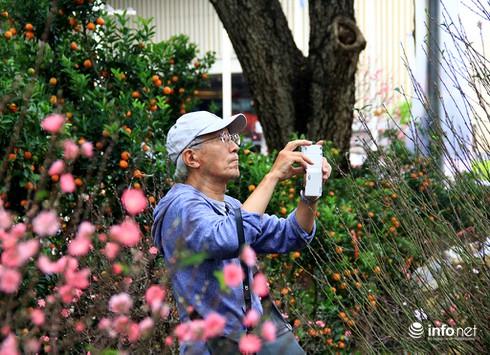 Du khách nước ngoài ngẩn ngơ trước rừng hoa bán Tết ở TP.HCM - ảnh 9