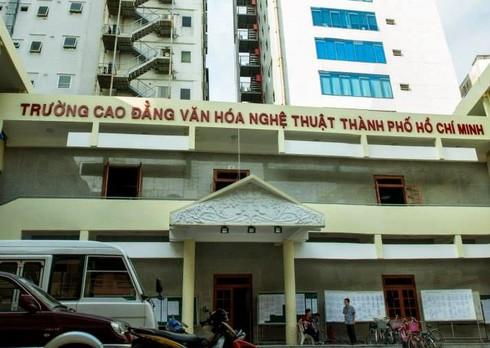 Thu hồi quyết định bổ nhiệm hiệu trưởng Trường CĐ Văn hóa nghệ thuật TP.HCM - ảnh 1