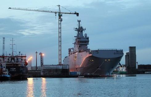 Nga đồng ý cho Pháp bán tàu sân bay Mistral - ảnh 1