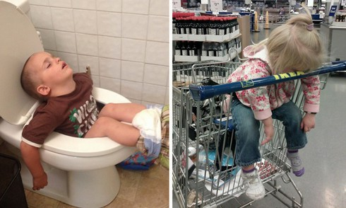 Cười ngặt nghẽo với các tư thế ngủ chỉ có ở trẻ em - ảnh 1