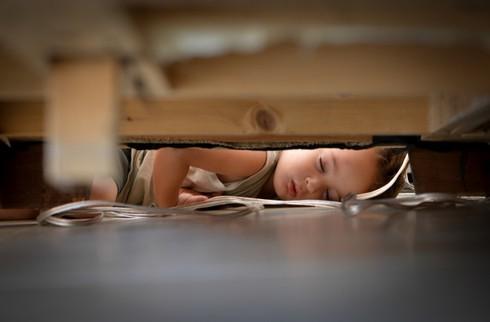 Cười ngặt nghẽo với các tư thế ngủ chỉ có ở trẻ em - ảnh 19