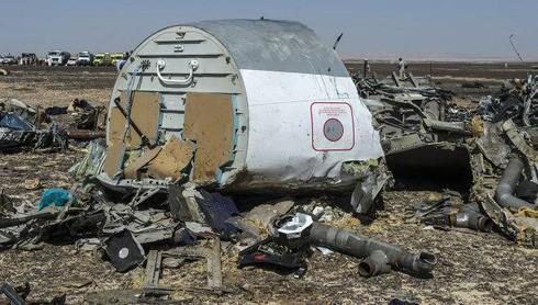 Máy bay Nga rơi ở Ai Cập là do bị nổ động cơ - ảnh 1