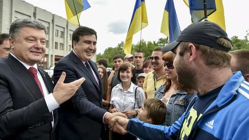 """""""Giấc mơ Gruzia"""" của ông Poroshenko liệu có thành hiện thực? - ảnh 2"""