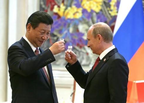Mỹ lép vế trước liên minh chiến lược Nga-Trung? - ảnh 1