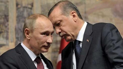 Erdogan muốn nâng tầm quan hệ Nga - Thổ - ảnh 1