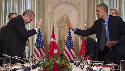 Ông Erdogan buồn phiền với Mỹ chuyện Syria - ảnh 1