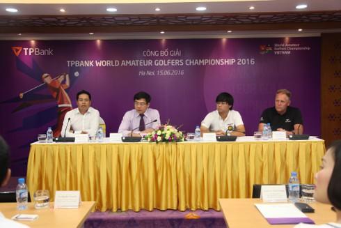 "Khởi động giải ""TPBank World Amateur Golfers Championship 2016"" - ảnh 1"