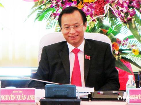 Ông Nguyễn Xuân Anh được bầu giữ chức Bí thư Thành ủy Đà Nẵng - ảnh 1