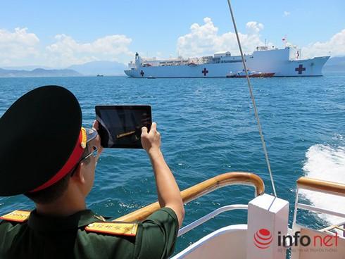 Tàu USNS Mercy thuộc Hạm đội Thái Bình Dương sắp tới Đà Nẵng - ảnh 1