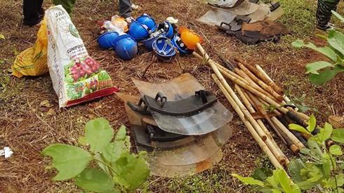Đắk Nông: Thực nghiệm hiện trường vụ nổ súng khiến 19 người thương vong - ảnh 2