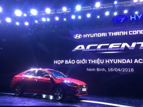 Hyundai Accent 2018 lắp ráp chính thức ra mắt tại Việt Nam, giá cao nhất 540 triệu đồng - ảnh 1