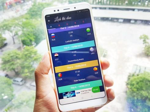 Những ứng dụng tiếng Việt miễn phí giúp bạn tiện theo dõi World Cup 2018 - ảnh 1