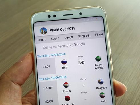 Những ứng dụng tiếng Việt miễn phí giúp bạn tiện theo dõi World Cup 2018 - ảnh 2