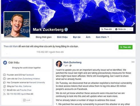 Mạng xã hội Facebook bị tấn công, người dùng Việt Nam nên đổi mật khẩu / Facebook bị tấn công, ứng dụng Instagram, game…đăng nhập bằng tài khoản Facebook cũng không còn an toàn