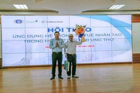 Phú Thọ: Ứng dụng trí tuệ nhân tạo cứu nhiều bệnh nhân ung thư - ảnh 1