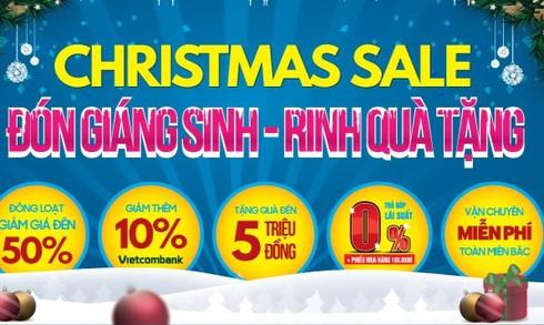 Hàng điện máy ồ ạt khuyến mãi dịp Noel, Tết Dương lịch - ảnh 2