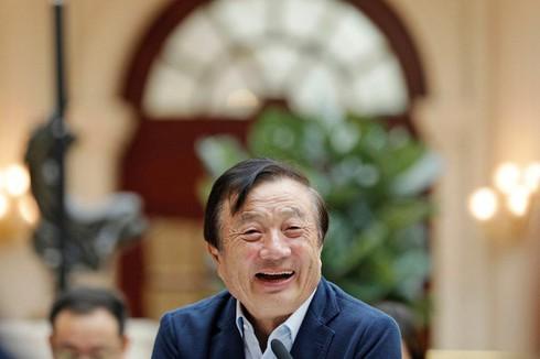 Cha đẻ Huawei xuất hiện sau thời gian dài ẩn mình - ảnh 1