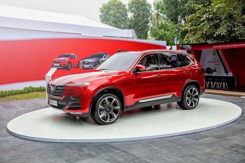 Xe SUV VinFast Lux SA 2.0 có thể lăn bánh chạy thử tại Việt Nam vào tháng 3 tới - ảnh 1