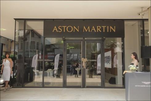 Thương hiệu xe sang Aston Martin chính thức có mặt tại Việt Nam - ảnh 1