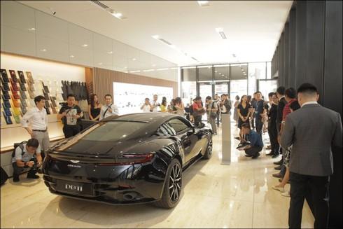 Thương hiệu xe sang Aston Martin chính thức có mặt tại Việt Nam - ảnh 2
