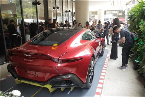 Thương hiệu xe sang Aston Martin chính thức có mặt tại Việt Nam - ảnh 5