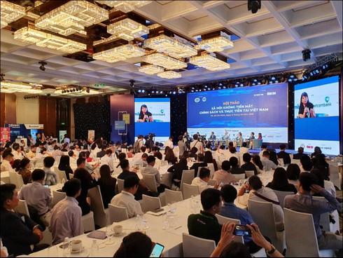 Phó Thủ tướng Vương Đình Huệ: Không dùng tiền mặt giúp nền kinh tế minh bạch, phòng chống tham nhũng - ảnh 4