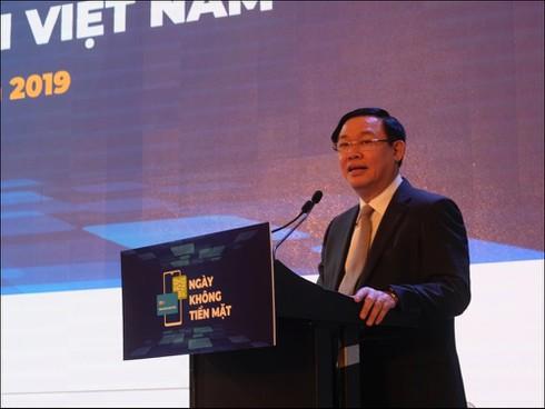 Phó Thủ tướng Vương Đình Huệ: Không dùng tiền mặt giúp nền kinh tế minh bạch, phòng chống tham nhũng - ảnh 1