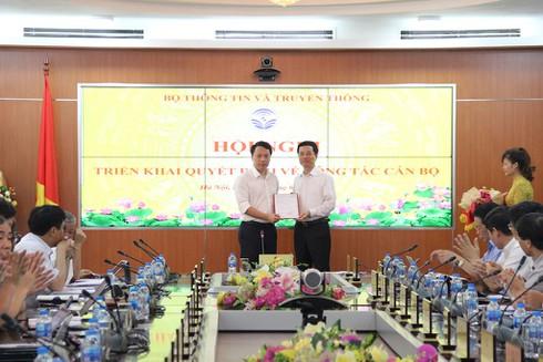 Ông Nguyễn Huy Dũng giữ chức vụ Cục trưởng Cục An toàn thông tin từ ngày 29/5/2019 | Bộ TT&TT bổ nhiệm ông Nguyễn Huy Dũng giữ chức vụ Cục trưởng Cục An toàn thông tin