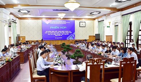 Đẩy mạnh ứng dụng CNTT trong xây dựng chính quyền điện tử - ảnh 1
