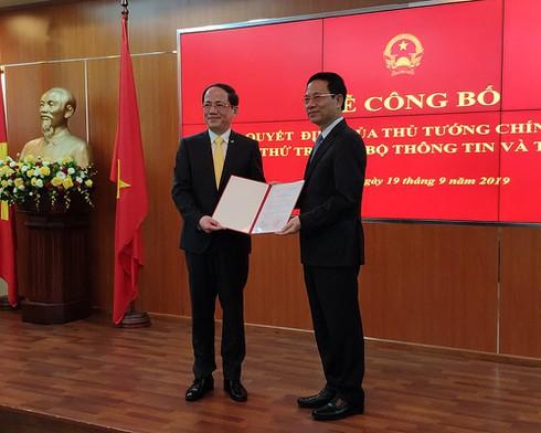 Bổ nhiệm ông Phạm Anh Tuấn, Chủ tịch VNPost giữ chức Thứ trưởng Bộ TT&TT - ảnh 1