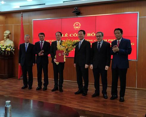 Bổ nhiệm ông Phạm Anh Tuấn, Chủ tịch VNPost giữ chức Thứ trưởng Bộ TT&TT - ảnh 2