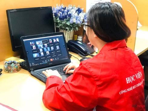 Từ hôm nay hơn 10.000 sinh viên PTIT học trực tuyến qua phần mềm TranS - ảnh 1