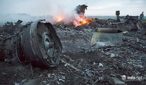 Một chiến đấu cơ Ukraine