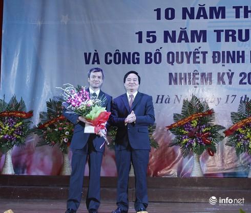 Trường ĐH Công nghệ- Đại học Quốc gia Hà Nội có Hiệu trưởng mới - ảnh 1