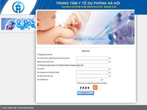 9 giờ sáng 17/3, Hà Nội triển khai đăng ký tiêm hơn 3.000 liều vắc xin Pentaxim - ảnh 1