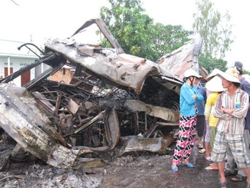 Tai nạn thảm khốc 10 chết, 23 người bị thương