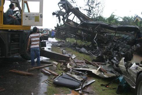 Bình Thuận: Tai nạn thảm khốc 10 chết, 23 người bị thương