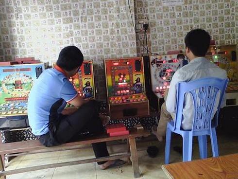 Điện tử xèng - trò cờ bạc công khai