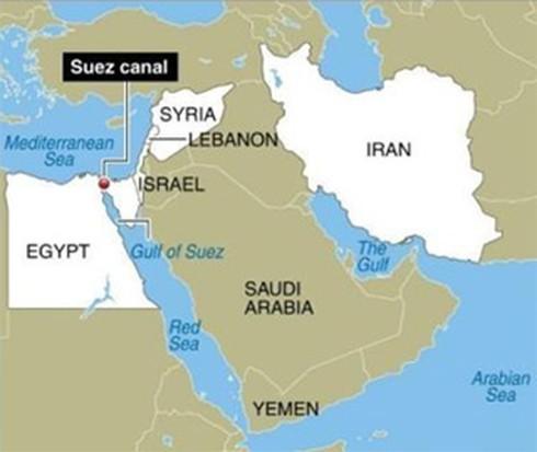 Israel thủ thế theo dõi tàu chiến Iran tiến đến Syria