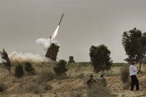 Dải Gaza tan hoang sau những trận 'mưa tên lửa' của Israel