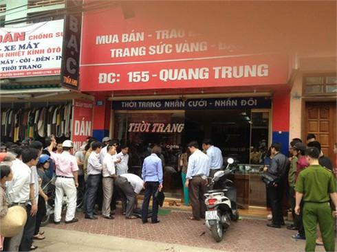 Cướp tiệm vàng ở Tuyên Quang: Chỉ để giải quyết mâu thuẫn?