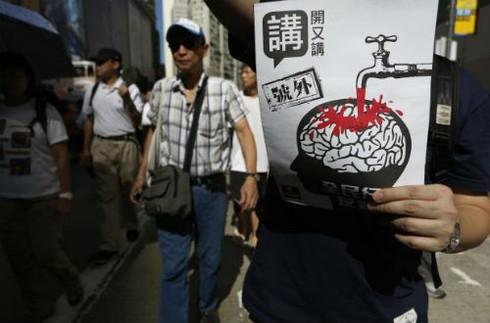 Dân Hồng Kông ngày càng ghét Trung Quốc