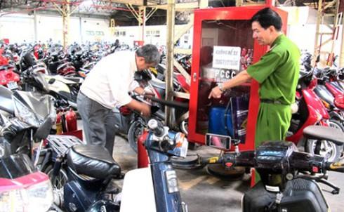 Bãi giữ xe phải đảm bảo diện tích tối thiểu 2,5 m2/xe máy