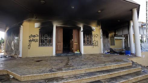 Libya: Nổ tòa nhà Bộ Ngoại giao đúng 1 năm sau vụ đánh bom sứ quán Mỹ - ảnh 1