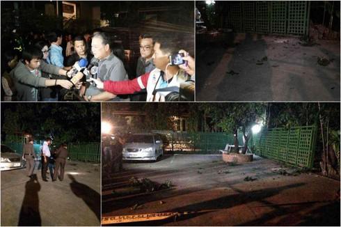 Thái Lan: Nhà thị trưởng Bangkok bị ném lựu đạn - ảnh 1