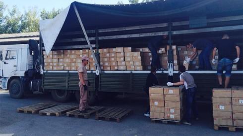 Tin thế giới 18h30: Đoàn xe Nga cứu trợ Đông Ukraine đã.. xong việc - ảnh 1