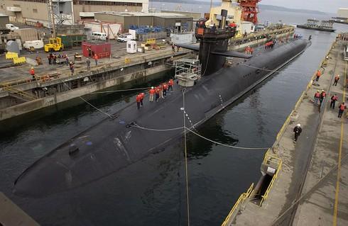 Mỹ âm thầm đưa tàu ngầm 'khủng' do thám tranh chấp Biển Đông - ảnh 1