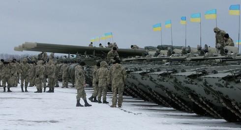 Ukraine vẫn chờ vũ khí Mỹ dù đã có thỏa thuận Minsk - ảnh 1