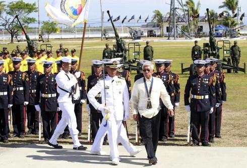 """Philippines muốn Mỹ """"cam kết chắc chắn"""" ngăn Trung Quốc trên Biển Đông - ảnh 1"""