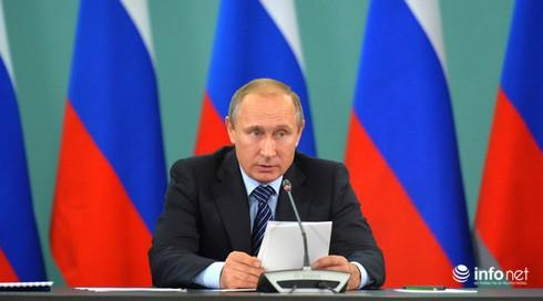 Tổng thống Putin: Nhiều quốc gia trong G20 tài trợ cho IS - ảnh 1